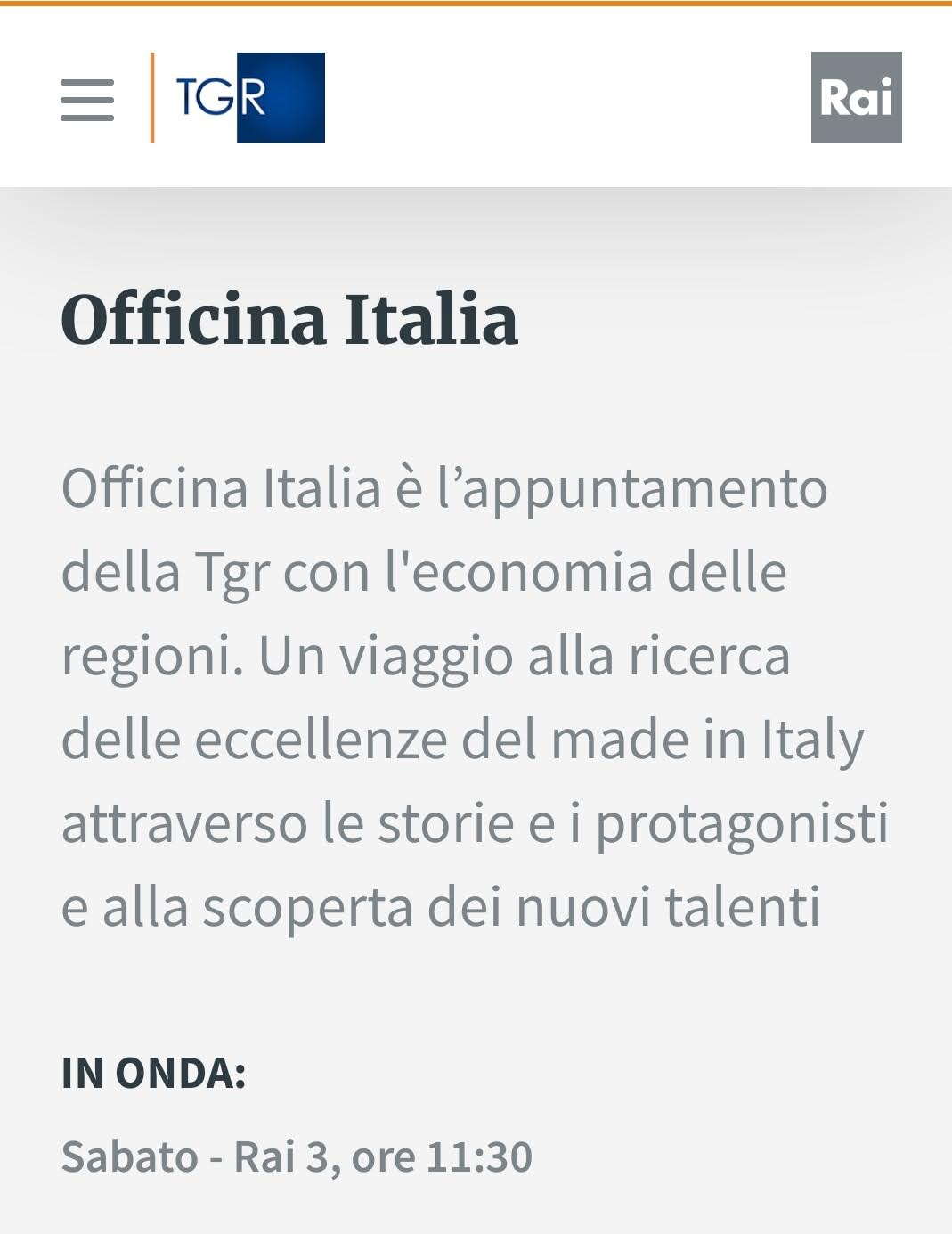 OFFICINA ITALIA